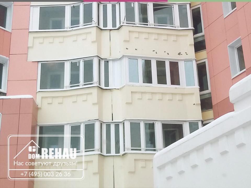 Остекление балкона 4
