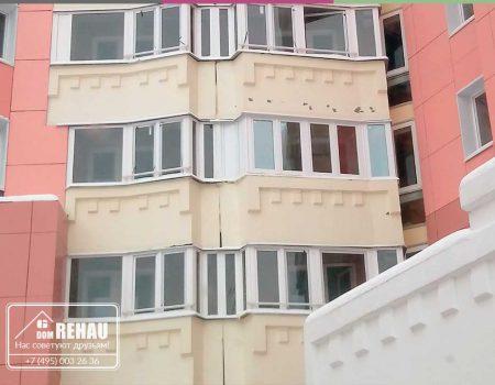 Остекление балкона от пола до потолка