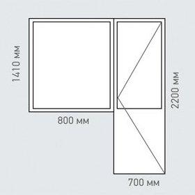 Стоимость окон в доме серии <span></noscript>I-515-9М</span>