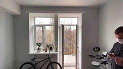 Окна в хрущевке. Остекление балкона с крышей.