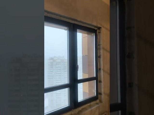 Два Ламинированных окна